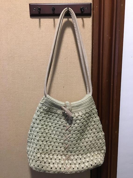 Sale! Crochet Tote/ Shoulder Bag