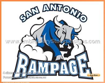 San Antonio Rampage Etsy