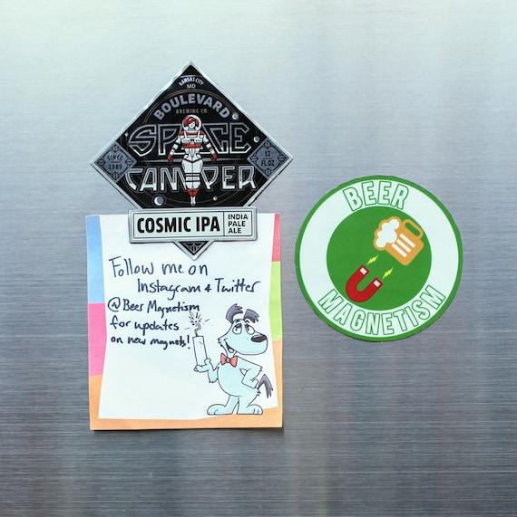 Beer Collectible Coaster ~ BOULEVARD Brewing Co Space Camper IPA ~ KANSAS