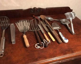 Kitchen Utensils Vintage Etsy Uk