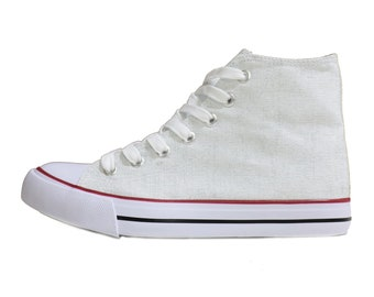 Off white converse   Etsy