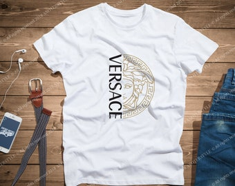 d8f53357c20899 tshirt new style gift for her for him inspired by Versace