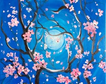 a42c15434e37 16x20 cherry blossom   Etsy