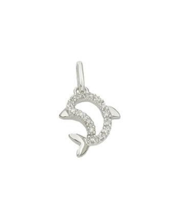 Dolphin Charm Charms for Bracelets and Necklaces