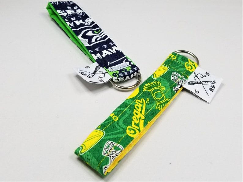 Fabric Wristlet Key Fob Cloth Wristlet Keychain Key Chain