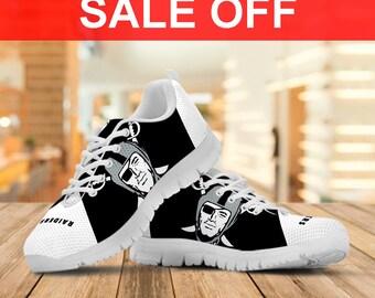 f3bab5257 Oakland Raiders Custom Sneaker / Men's shoes/Women's shoes/Youth's Shoes