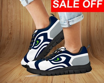 630a998101ad Seattle Seahawks Custom Sneaker   Men s shoes Women s shoes Youth s Shoes