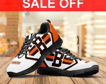 aaf8094417c34b Cleveland Browns Tide Sneaker   Custom Shoes Men s shoes Women s shoes Youth s  Shoes