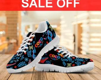 e203aaceed28 Coco Movie Sneaker   Coco Disney  Custom Shoes Men s shoes Women s shoes Youth s  Shoes