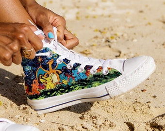 3444f40251 Pokemon Custom Shoes