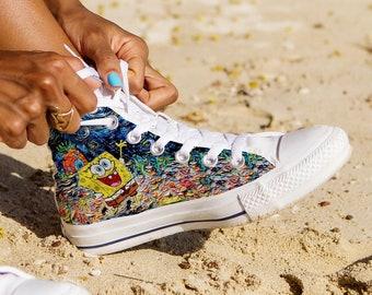 aa73a75eca9d SpongeBob Canvas Shoes