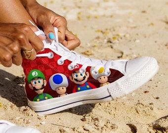 127c9b4626326 Super Mario chaussures