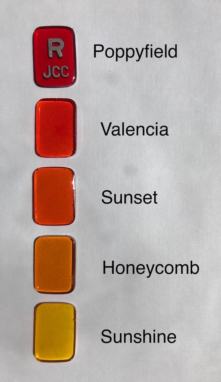Translucent Color XRay Markers Non-Glitter