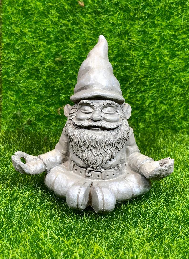 Zen Garden Gnome Fairy Garden Accessories Fairy Garden Etsy