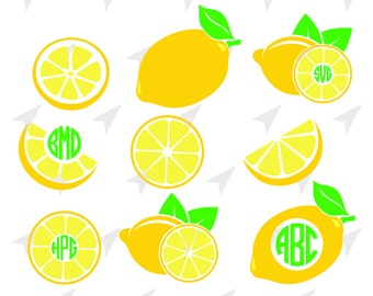 Lemon Images For Cricut