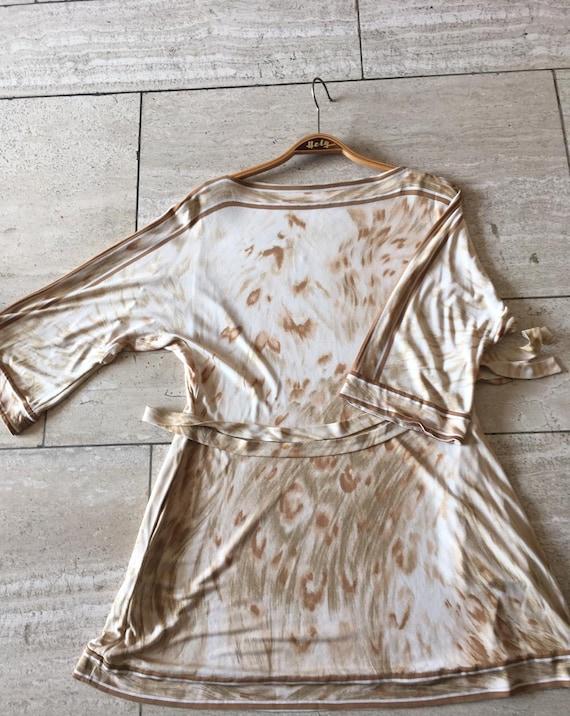 Leonard Paris vintage silk dress Kleid Seide