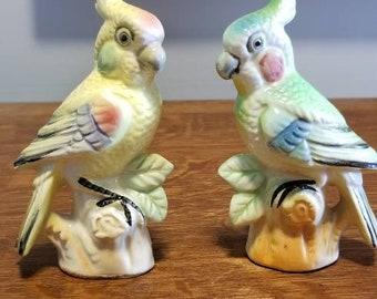 Cockatoo figurines   Etsy