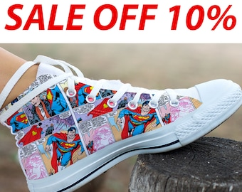 6ab046268a59 Superman High Top