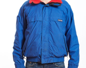 19c83a3c2c8 Vintage 90s 1990s Lands End lightweight skiing jacket made in USA size L