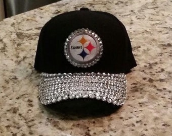 50b119c0f6b Pittsburgh Steelers Bling Cap