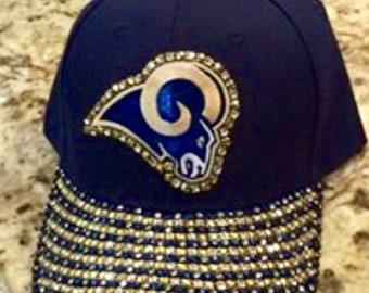 new product d8d74 36709 St Louis Rams Bling Cap