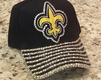 811f29eb New orleans saints hat | Etsy