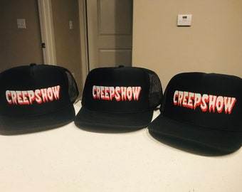 d5c8cb247cfc5 Creepshow trucker hat horror Stephen King slasher SnapBack cap