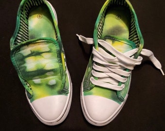0867575b53cc Custom Made Tie Dye Shoes