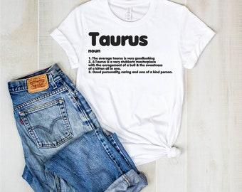1911c3ee67b Taurus t shirt- Zodiac Sign definition Shirts- Taurus shirt- Zodiacs