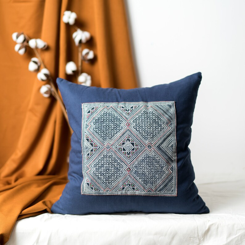 Pillowcases 18x18 Vintage Pillow Cases Patchwork Pillow Cover Decorative Throw Pillow