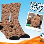 Custom Face Socks, Custom Photo Socks, Custom Socks, Personalized Socks, Custom Printed Socks, Picture Socks, Photo Gift, Face Smash Socks
