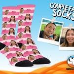 Custom Socks For Him, Face Photo Socks For Her, Anniversary Gift For Boyfriend, Personalized Face Socks For Girlfriend,