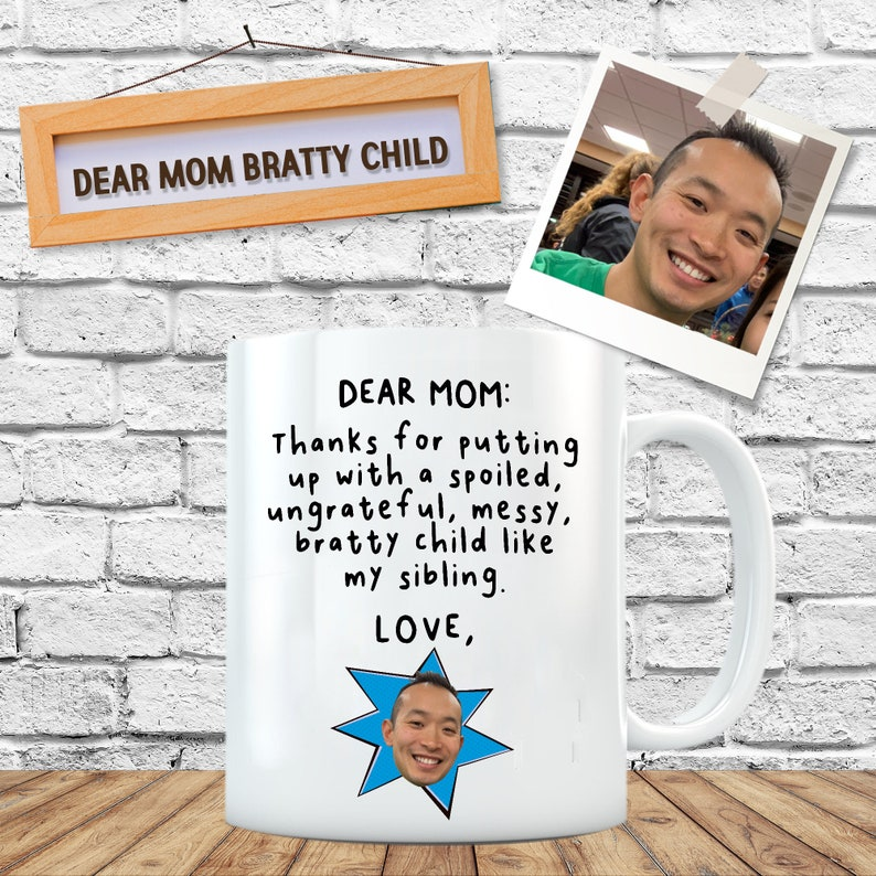 Funny Mom Mug Mom Gift From Kids Gift For Mom From Son Gift image 0