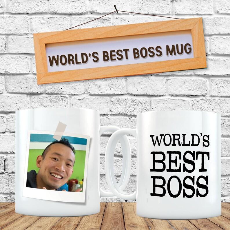 World's Best Boss Mug Funny Personalized Mug Custom image 0