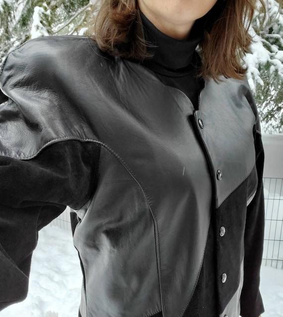 80s Vintage Leather Jacket
