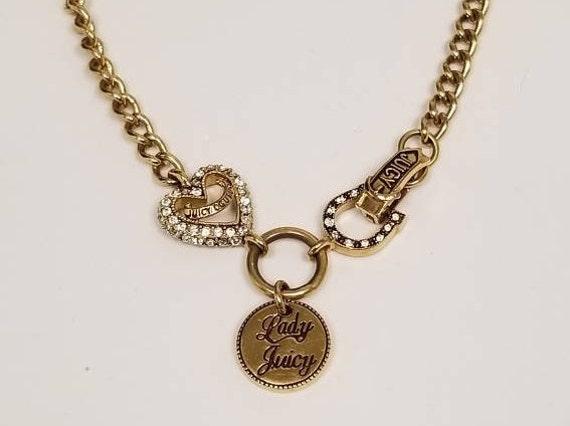 Vintage Juicy Couture Choker Necklace