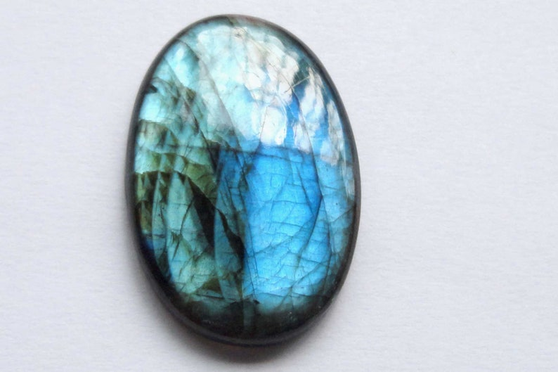 AAA+Quality Labradorite Natural Genuine Gemstone Cabochon Jewelry Making Handmade Cheap Best Value Supply # 17399