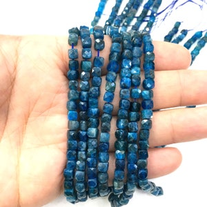 4-5mm 90 beads Natural Tourmaline Faceted Small Cube Healing /& Energy Gemstone Loose Beads for Bracelet Necklace Jewelry Design AAAA Quality