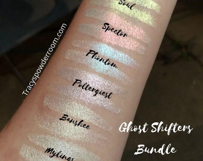 Shifting Ghost Bundle Pigment Eyeshadow Iridescent Highlighter