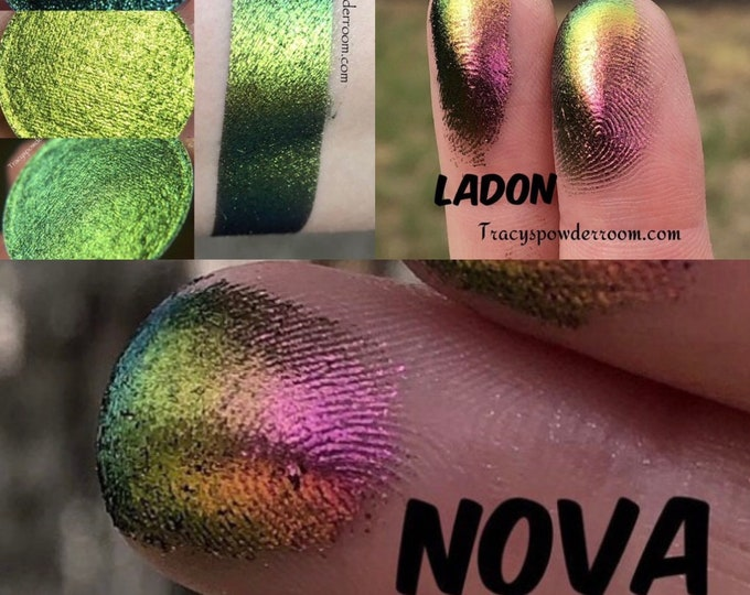 Pre Order Dragon Extreme Bundle, Multichrome, Color changing, Indie Make up, Indie Eyeshadow, MUA, Duochrome,