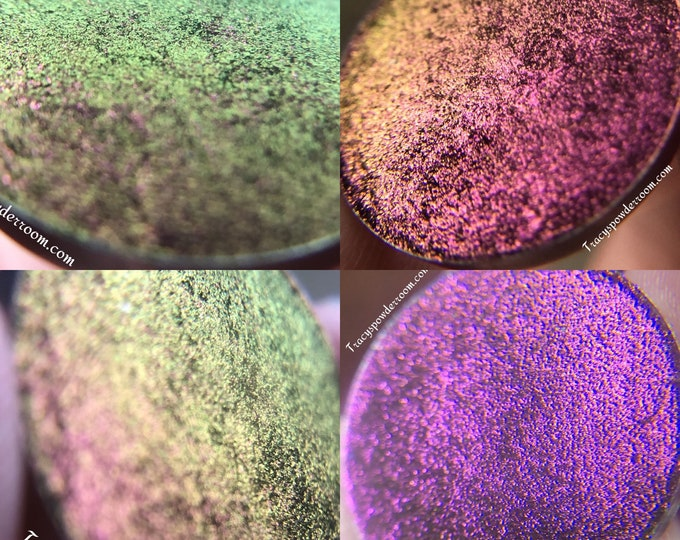 NOVA - Dragon Extreme Multichrome Pressed - Color Shift Pigment - Chameleon Pigment - Makeup Accessory - Gift For Beautician