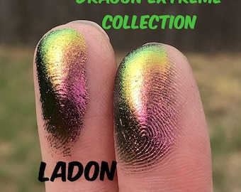 LADON Dragon Extreme Multichrome pressed - chameleon pressed - Make Up Artist Gift - Colorful Pressed - Cosmetic Accessories