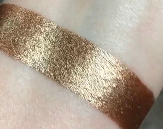 CHESTNUT Pressed Pigment/Eyeshadow, vegan, cruelty free, magnetic