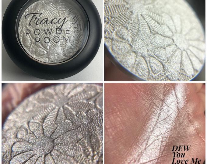 DEW You Love Me Pigment Highlight Eyeshadow Indie Eyeshadow Indie Make Up Shimmer Eyeshadow White Sparkle Mua