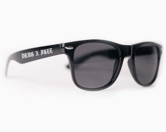 Drug Free / Straight Edge Sunglasses