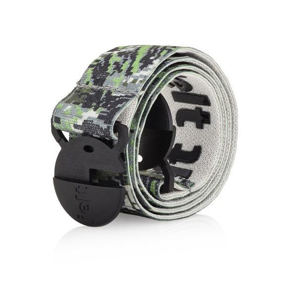 For Women /& Men Non-Metal Turquoise Belt Jelt Elastic Stretch Belt
