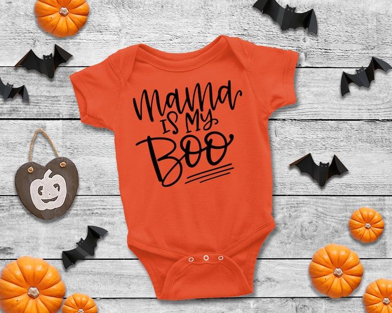 Cute Girl Bodysuit Cute Boy Bodysuit Mama Halloween Bodysuit Mama Is My Boo Bodysuit Halloween Bodysuit