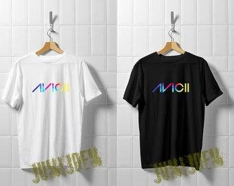 65a8a2c498a Avicii Logo Tri-blend T Shirt - Avicii Shirt - Top Selling T Shirt Unisex  Adult