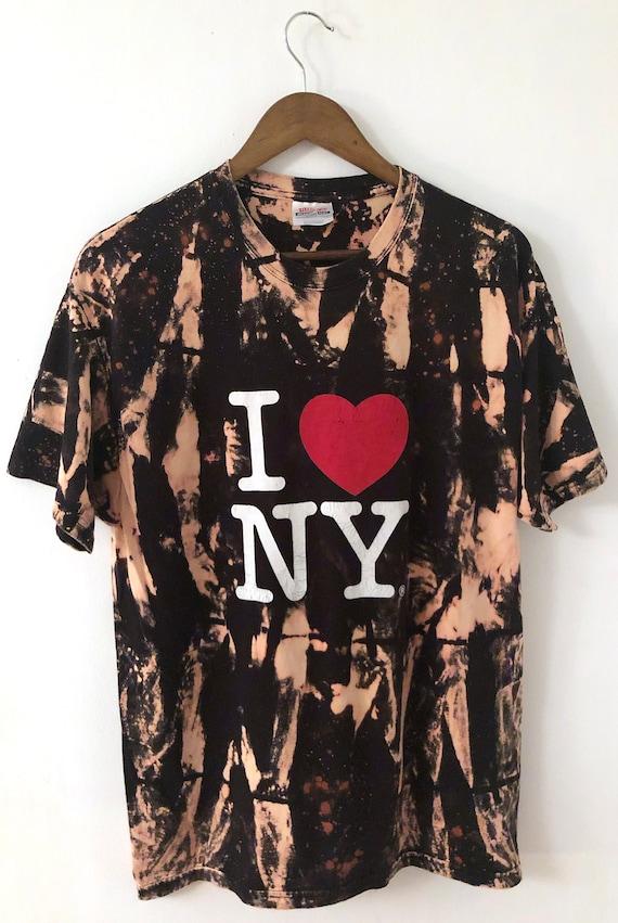 Vintage Black I LOVE NY Crewneck Nyc New York City
