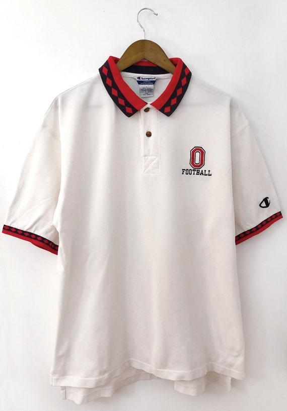 Nice Rare Vintage 90's CHAMPION Logo Embroidered O